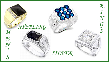 wholesale sterling silver mens rings