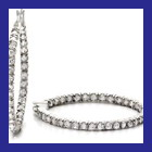 sterling silver with cz