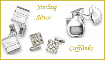 wholesale sterling silver cufflinks