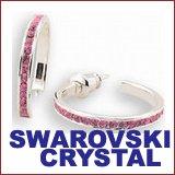swarovski crystal earring