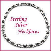 wholesale sterling silver necklaces